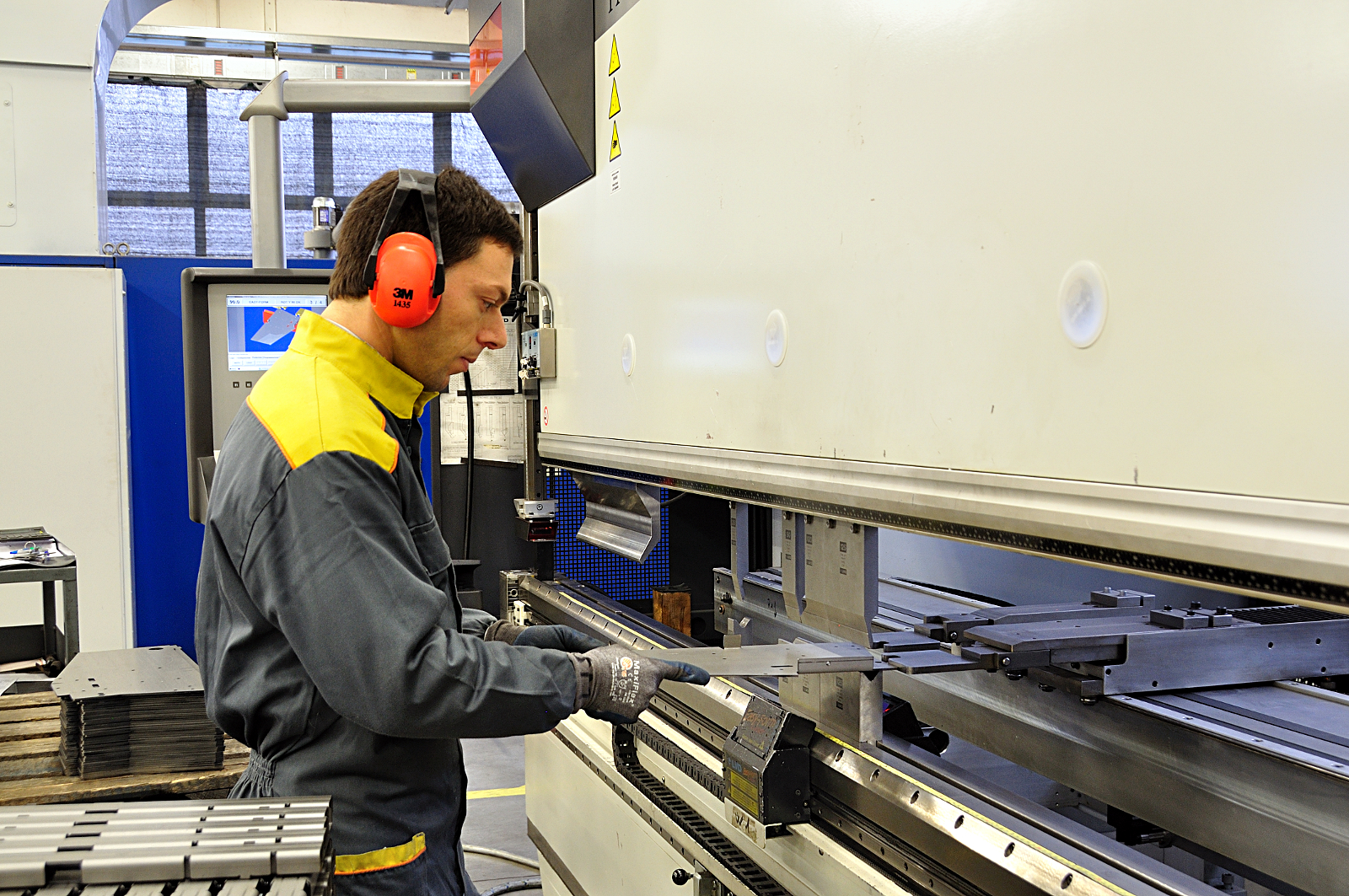 Mach - production plant in Italy