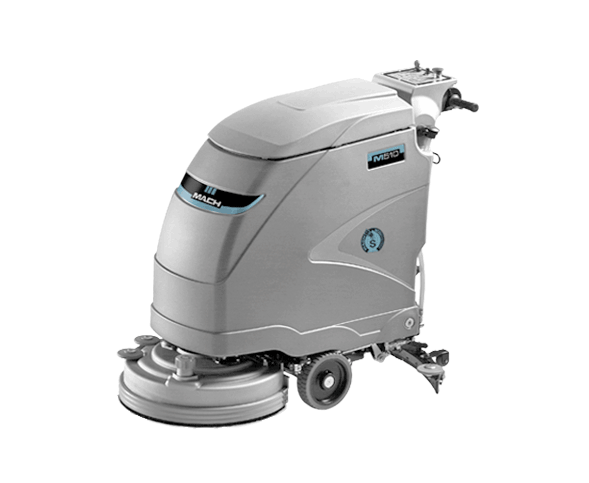 MACH M510 WALK BEHIND SCRUBBER SAVE TIME AND MONEY REVOLUTIONARY