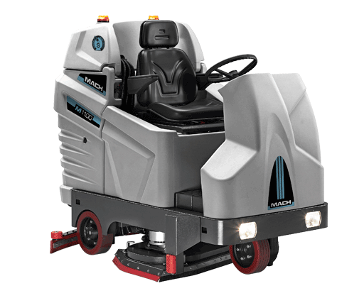 M1100 MACH TOP OF THE RANGE RIDE ON SCRUBBER DRYER