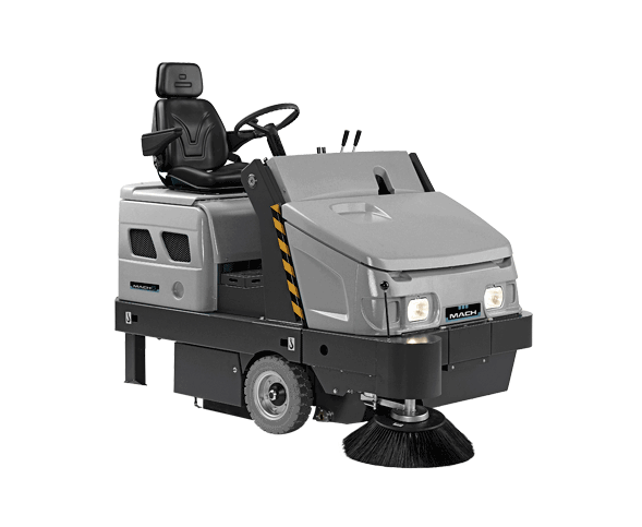 MACH 6 RIDE-ON SWEEPER