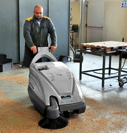 MACH 1 SWEEPER SIMPLE AND ROBUST